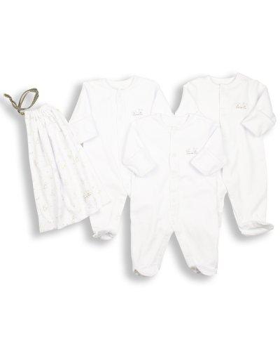 Essential One - Schlafanzuge/Schlafanzug/Einteiler/langarmeliger Body/ Strampler (3-er Pack mit Beutel) ESS1 Gr 50cm