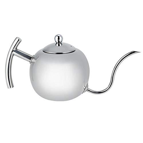 Edelstahl Teekessel Topf Kaffee Gießen Tropfkessel mit Schwanenhals 850ml / 1000ML(1000ML) - Thermal Dispenser Kaffee