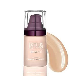 Lotus Makeup Proedit Silk Touch Perfecting Foundation, Porcelain, 30 ml