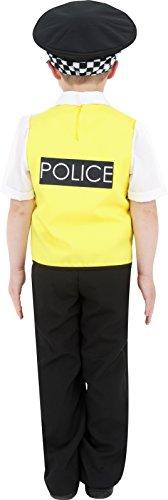Imagen de smiffy's  disfraz de policía para niño, talla s 4  6 años  38661s  alternativa
