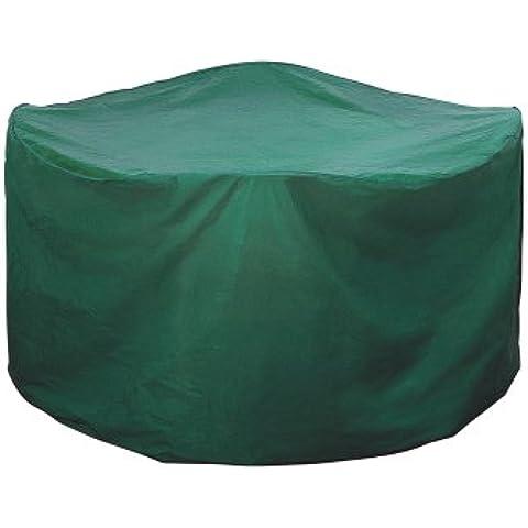 Rayen 6382.10 - Funda de polietileno para mesa de jardín, 160x100 centímetros, color verde