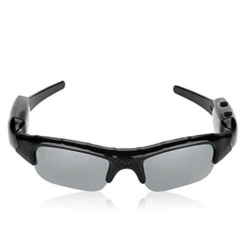 ANSKT Smart-Digitalkamera-Sonnenbrillen Unisex HD-Brille Mountainbike Reiten Sonnenbrillen Eyewear DVR Video Recorder Insertable SD-Karte, 1