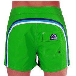 SUNDEK Low Rise Pantaloncino Mare Uomo Verde 36