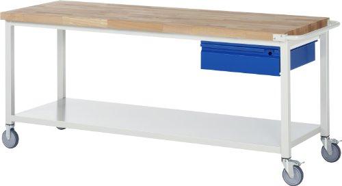 RAU Fahrbare Werkbank Serie BASIC-8 A5-8001I6-20S