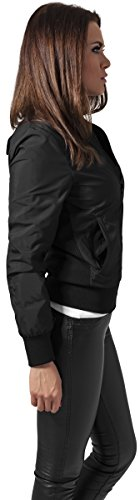 Urban Classics Ladies Light Bomber Jacket, Giacca Donna Black