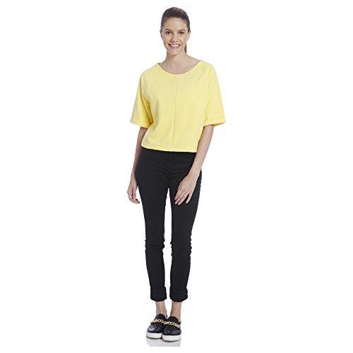 Vero Moda Women's Casual Yellow Top