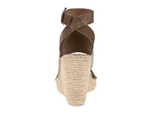 Dolce Vita Women's Nessah Olive Leather Sandal 8.5 M (Dolce Schwarz Vita Leder)