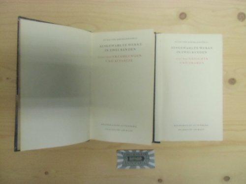 Ausgewählte Werke in zwei Bänden. Bd. 1. Gedichte und Dramen
