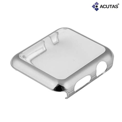 ACUTAS Full Screen Bump Case Hard Cover Protector for Apple iWatch Series 1/2/3 38/42mm