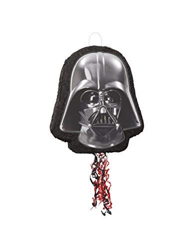 Unique Party 66324 Pinata Darth Vader Darth Star Wars mit Kordelzug