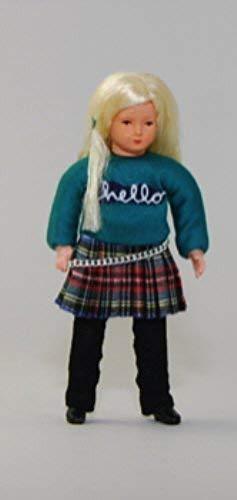Caco 03005600 Puppe Mädchen modern Rock Biegepuppe gebraucht kaufen  Wird an jeden Ort in Deutschland