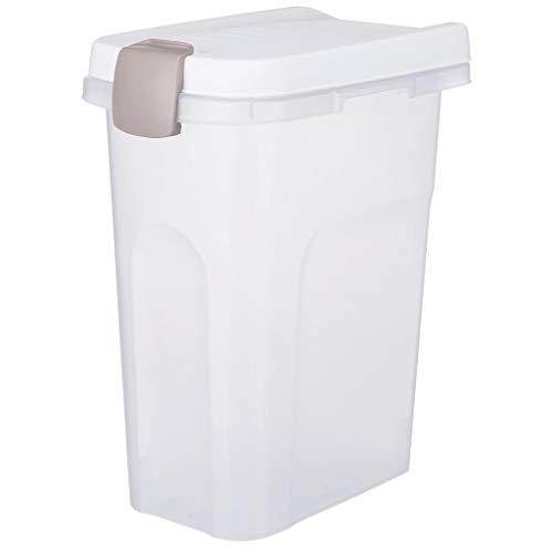 Luftdicht verschließbare Behälter 15 L für Trockenfutter und Kauartikel Halten Das Futter frisch und schützen vor Schädlingen und Feuchtigkeit