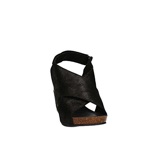 Igi&Co 7860 Sandales Compensées Femmes Noir