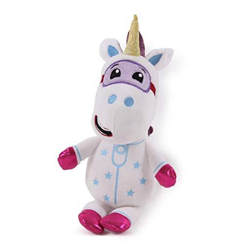 Go Jetters 1177 Soft Toy-Ubercorn, Multi Felpa, Blanco, Púrpura, Rosa