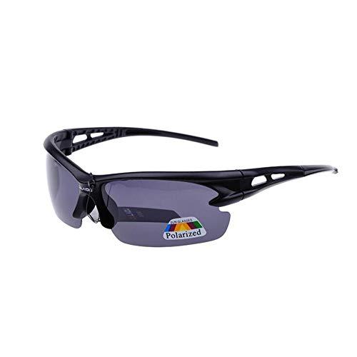 YHW-GLASSES-0827 YHWCUICAN Herren Outdoor Radsport Sport Sonnenbrille Explosion Polarisierte Sonnenbrille Fahrrad Sonnenbrille Angeln Fahren, Polykarbonat, Schwarz, 2PCS