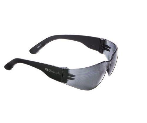 Lunette en polycarbonate avec protection latérale lentille protection solar-gris x10unidades