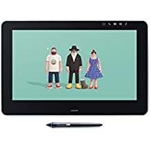 "Wacom DTH-1620-EU Cintiq Pro 16 - Pantalla creativa interactiva de 16"", full HD, con lápiz, negro matte"