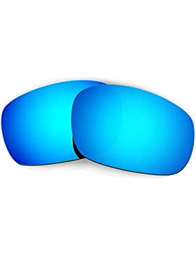 Hkuco Mens Replacement Lenses For Oakley Racing Jacket Sunglasses Blue Polarized