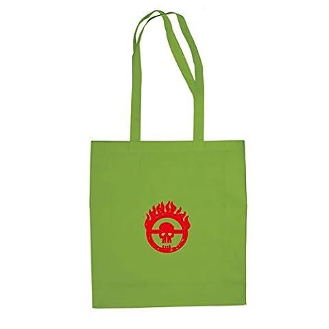 Mad Fury - Stofftasche / Beutel, Farbe: hellgrün