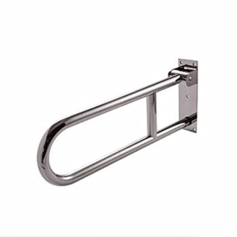 QPSSP 304 Stainless Steel Folding Toilet Armrest, Barrier Free Disabled Person, Old Man'S Toilet, Toilet Handle, Sanding