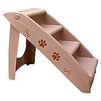 Mascotas escaleras ABS Material de la Escalera para Mascotas para Obtener en la Cama Alta 3 Pasos, Gato Antideslizante y Escalera para Perros, ...