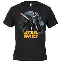 Comparador de precios Camiseta Star Wars Darth Vader (Talla: Talla XXXL Unisex Ancho/Largo [64cm/77cm] Aprox], Color: Negro) - precios baratos