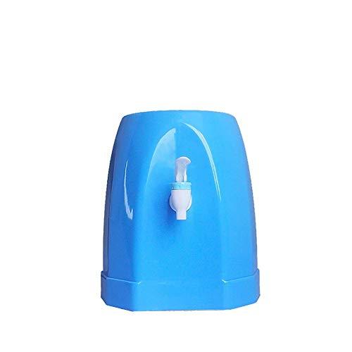 LXDDB Wasserspender mit Zapfhahn, Aufsatz-Mini-Trinkflaschenhalter Wasserspender Stand für Kitchen Home Office, blau
