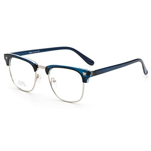 Masterein TR90 Optical Frame Brille Herren Frauen Brillen Brillen RX Half Rim
