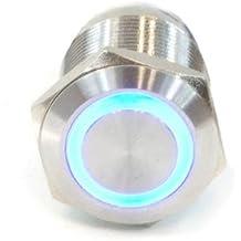 Phobya / 19mm, éclairage bleu, avec vis 6pin