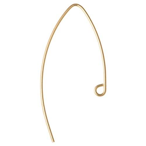 14K Gold gefüllt mit Ohrhaken Stecker Brisur für Drop/baumeln Ohrringe 33mm