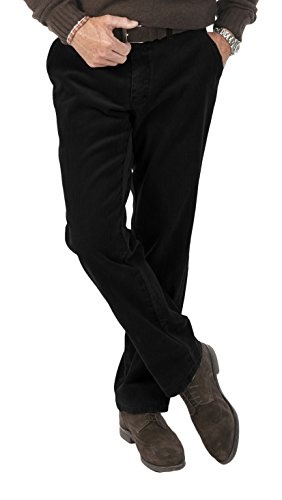 Michaelax-Fashion-Trade Club of Comfort - Herren Stretchcord Hose, Derry (5810), Größe:54, Farbe:Schwarz (10) -