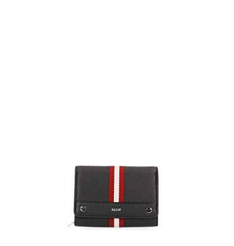 BALLY Luxury Fashion Damen GINNYSTRIPES620503140 Schwarz Brieftaschen   Jahreszeit Outlet -