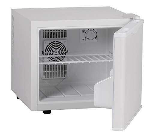 FineBuy Mini Kühlschrank 17 Liter/Minibar weiß/Getränkekühlschrank 5° bis 15°C (EEK: A+)