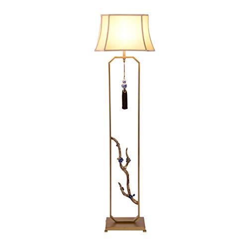Lampadaire oriental style fer forgé Lampe sur pied de salon