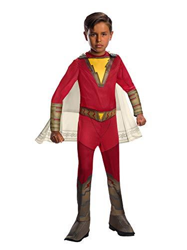 Superheld Kostüm Shazam - Rubie's Offizieller DC Comic Shazam! Superhelden-Kostüm für Kinder, klassisches Design