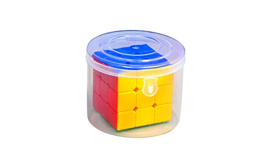 Vibgyor Vibes Sticker less Magic Rubik Cube 3X3 speed cube Puzzle in a Gift Pack Jar (Train your brain)  available at amazon for Rs.220