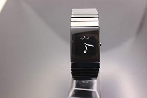 KLMWDSB Uhren Herren Vollkeramik hochwertige Casual Quarz Herrenuhr Kleid Keramik schwarz Armbanduhren Liebhaber Liebhaber Tisch Armband Damen