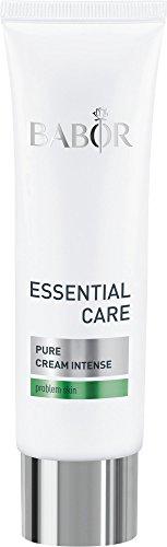 BABOR ESSENTIAL CARE Pure Creme Intense, klärende Anti-Pickel Gesichtspflege, für unreine Haut, erfrischter Teint, vegan, 50 ml -
