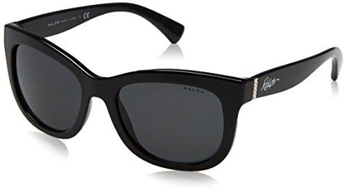 Ralph 0ra5234 137787 53, occhiali da sole donna, nero (black/grey solid)