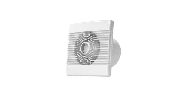 Prime de bain mur de la cuisine haut d/ébit extracteur ventilateur de 120mm avec un retard hors minuterie