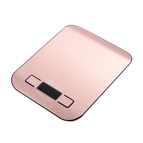 Strict Electronic Digital High Accuracy Round Bamboo Panel Lcd Screen Unit Switch Kitchen Bake Scale 1g-5000g Kitchen Scales Kitchen,dining & Bar