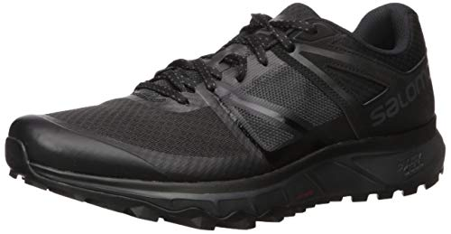 Salomon Trailster Zapatillas de trail running Hombre, Negro Phantom/Black/Magnet, 42 EU 8 UK