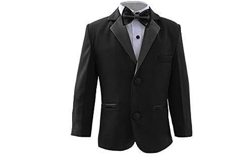 Boys Slim Fit Tuxedo, Boys Black Wedding Suit, Proms, Weddings & Party's 14 years