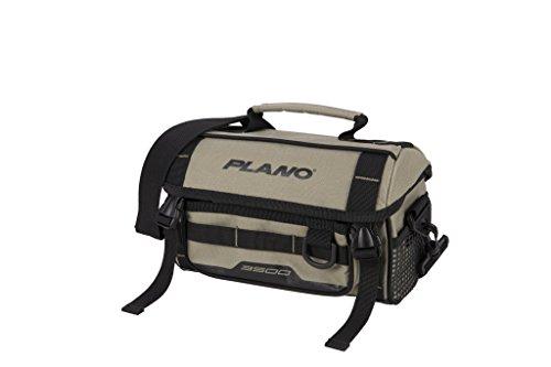 Plano PLAB35121 Weekend Series Softsider Tackle Bag 3500 Größe, Unisex-Erwachsene, Weekend Series 3500 Size Softsider Tackle Bag, w/ 2-3500's, Tan, hautfarben, Einheitsgröße -
