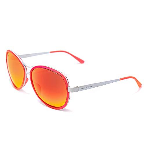 Italia Independent Damen 0073-056-000 Sonnenbrille, Pink (Rosa), 61.0