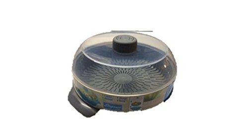Mikrowellen-Dampfgarer, rund gr