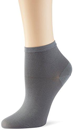 Tommy Hilfiger Damen Matt Fein Socken TH SOFT COTTON SHORT, 2er Pack, Gr. 35/38 (Herstellergröße: 035), Grau (anthracite 201)