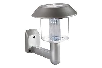 4x Solar LED Wandleuchte Wandlampe Solarlampe Solarleuchte