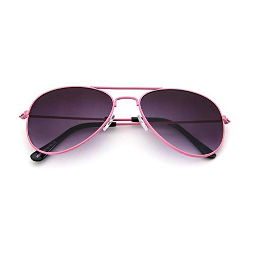 8Eninine Flash/Mirrored Bleifrei Fashion Aviator Kids Sonnenbrille Baby Sonnenbrille Pink & Grey
