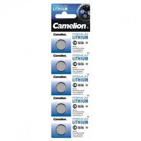 CAMELION Pack de 5 piles Camelion Lithium CR1616 3V